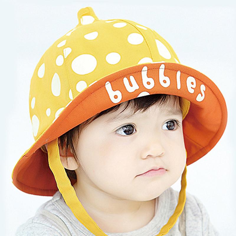 Baby Touch หมวกเด็ก ปีกรอบ Bubbles (Hat - DB)