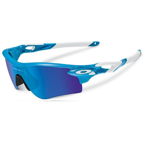 Oakley Radarlock Path : FingerPrint Sky Blue / Sapphine Iridium + Black Iridium Lens