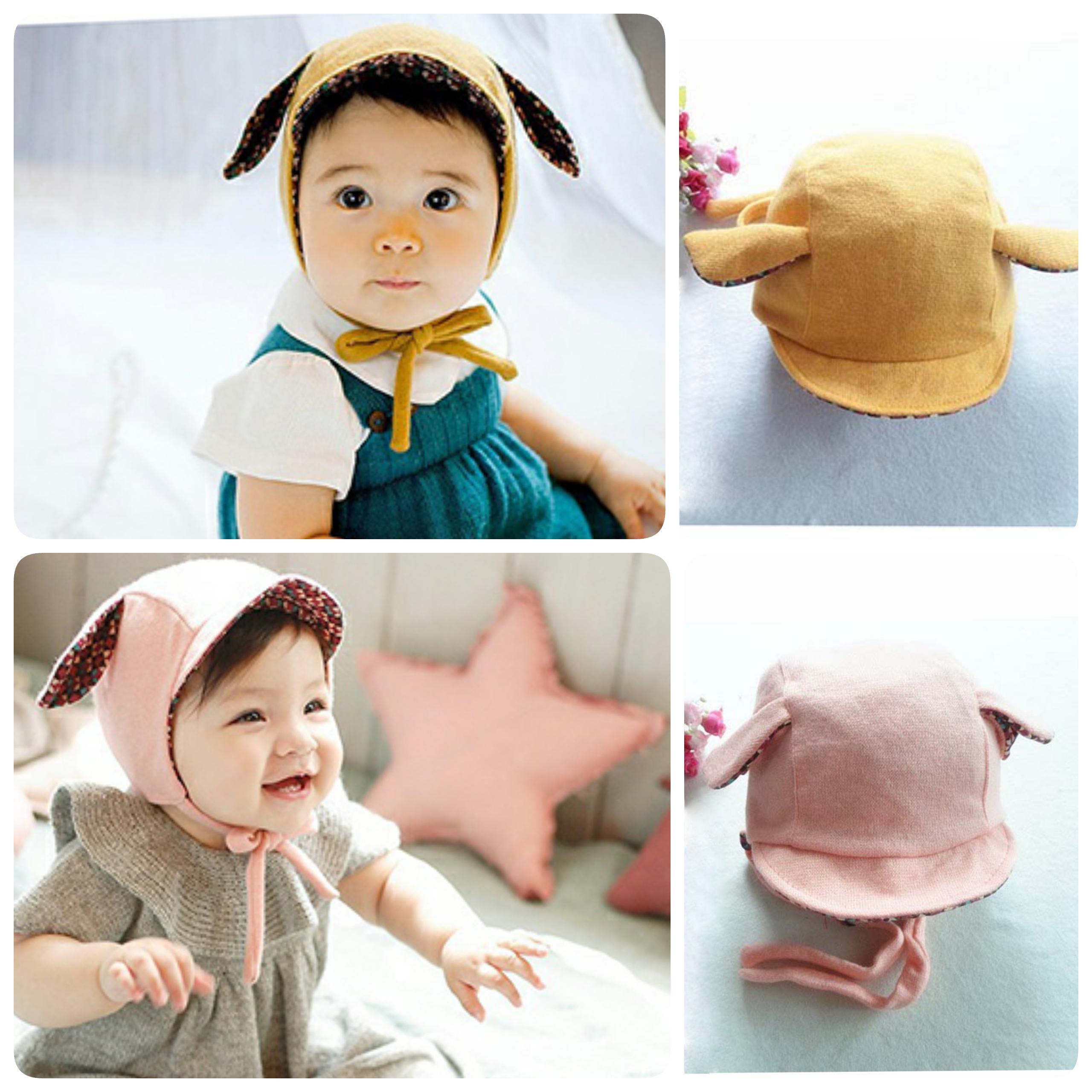 Baby Touch หมวกผูกปิดหู กวางน้อย (Hat - EA)