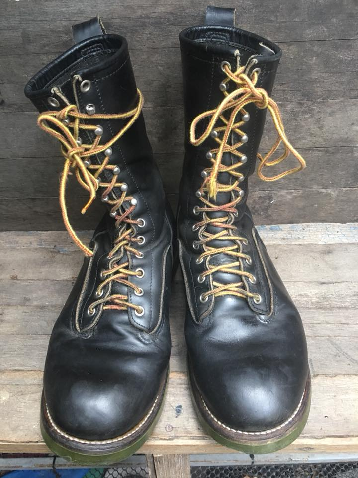 "Red Wing 919-1 Lineman LOGGER Boots 10"" นิ้ว"