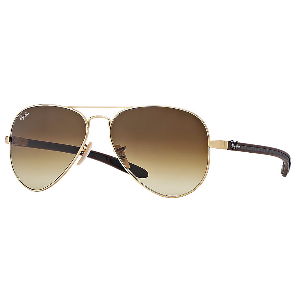 RayBan Avaitor Carbon RB8307 112/85 - Brown Gradient Lens
