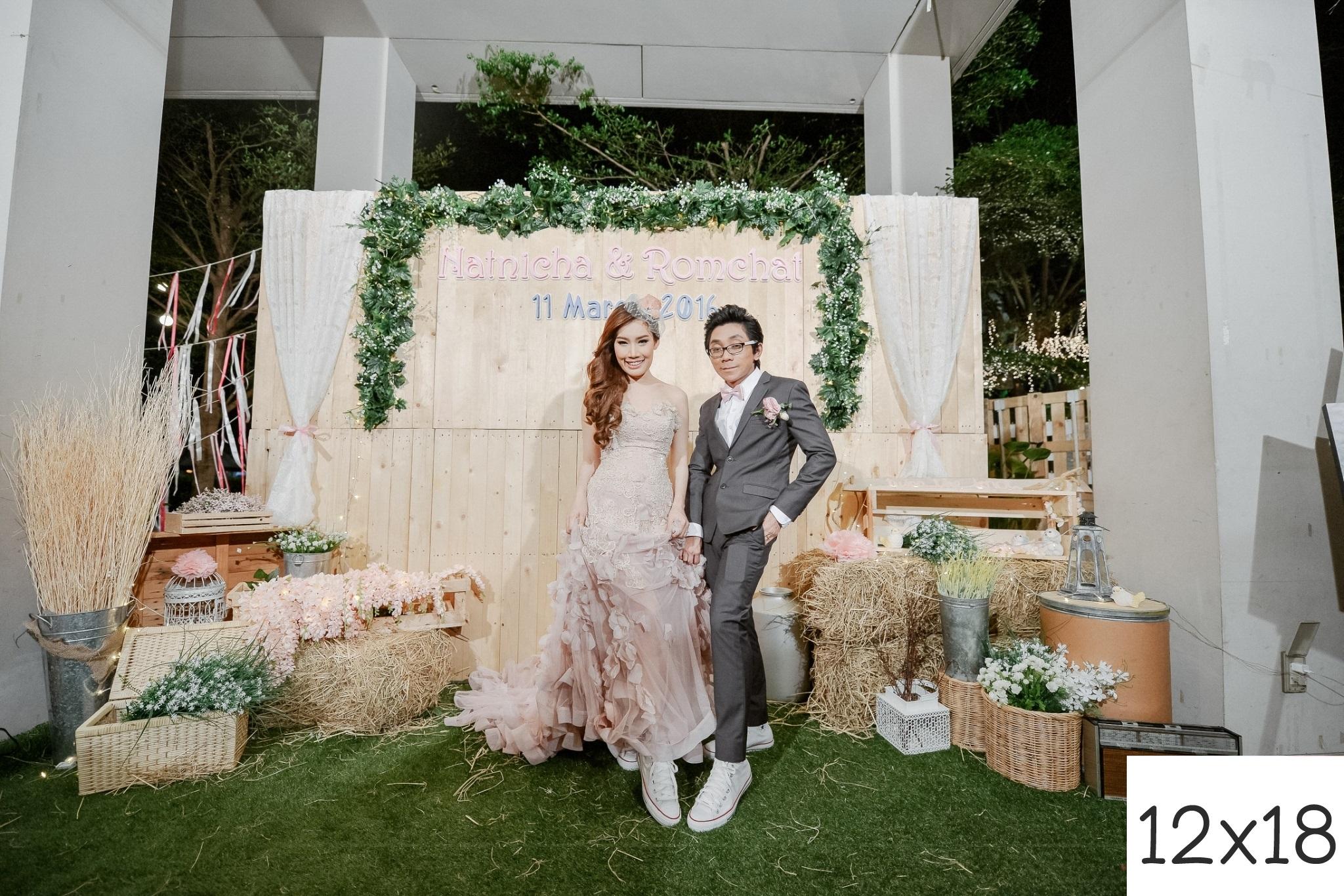 รูปแต่งงาน อัดรูปออนไลน์ ล้างรูปราคาถูก ขนาดอัดรูป 12x18