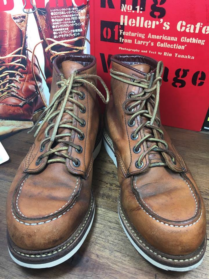 RED WING 1907 size 8D