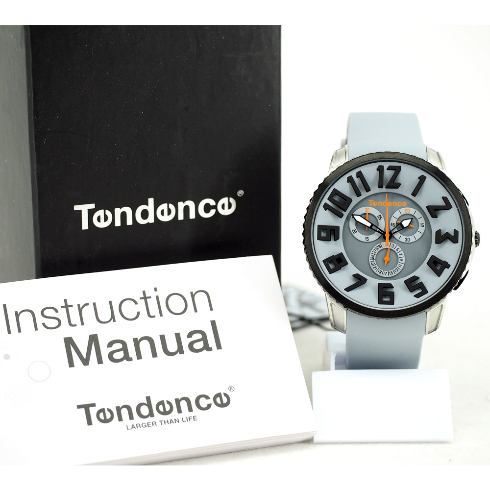 Tendence Gulliver Slim Chronograph - Grey / Black