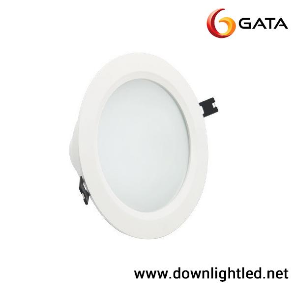 ดาวน์ไลท์LED 15w หน้ากลม 6นิ้ว ยี่ห้อ GATA (แสงขาว)