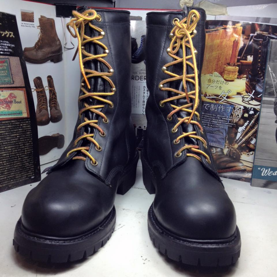 Thorogood Firefighter Logger Boots SIZE 11