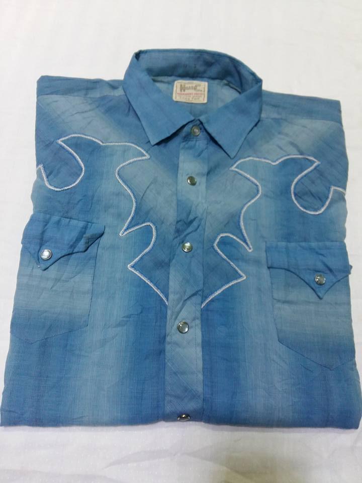 Shirt. *H BAR C* MADE IN U.S.A ไซร์. 17