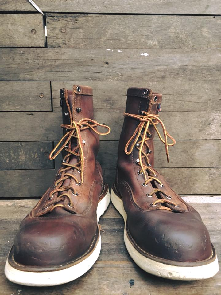 Vintage Danner made in usa size 9.5หัวเหล็ก