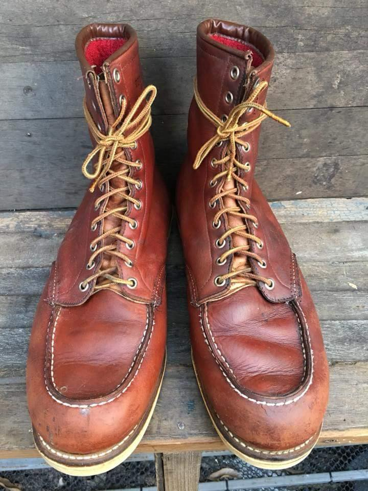 Vintage red wing 812 ยุค1960's size 14D