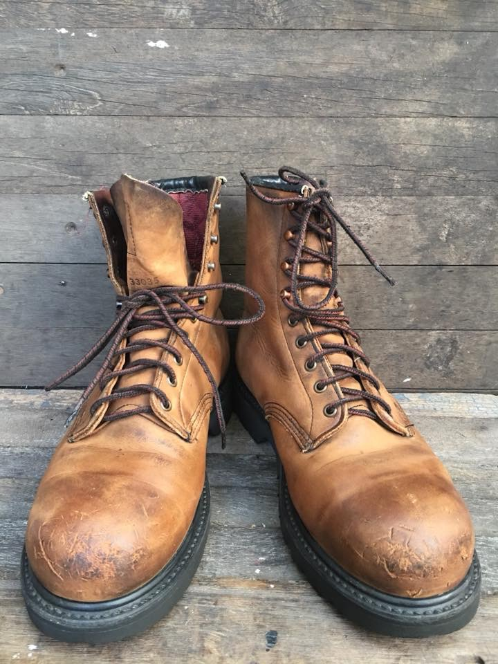 Redwing2204Vitage safety boots ยุค 90 size 8D