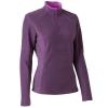 Quechua Fleece สำหรับอุณหภูมิ 7 ถึง 10 องศา - Purple
