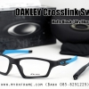 OAKLEY CROSSLINK SWEEP 55mm (SATIN BLACK / SKY BLUE)