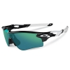Oakley Radarlock Path : 30th Years Edition Polished Black / Jade Iridium + Black Iridium Lens