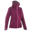 Quechua Women'S Extra Waterproof Jacket for hiking - Purple
