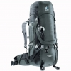 DEUTER Aircontact 45 + 10 granite-black (grey-black)