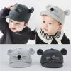 หมวกเด็ก พรีเมี่ยม แก๊ปโคอาล่า มีหู (Hat - BL)
