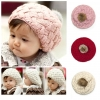 Baby Touch หมวกไหมพรมนิ่ม มีพู่ (Hat - FD)