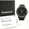 Tendence Gulliver Round Chronograph - Silver / Black