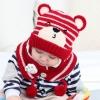 Baby Touch เซ็ตหมวกผ้าพันคอ พรีเมี่ยม รุ่นหมีเท็ด (Hat - SFB)
