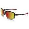 Oakley Triggerman : Black Ink / Ruby Iridium Lens