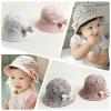 Baby Touch หมวกปีกรอบ ใส่ได้สองด้าน ลายดอกไม้ (Hat - DG)