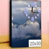 อัดรูปออนไลน์ ล้างรูปราคาถูก ขนาดอัดรูป 20x30 + กรอบลอย + นาฬิกา