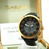 Tendence Swiss Made Steel Watch - Black / Gold