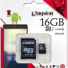 16 GB MICRO SD CARD KINGSTON CLASS10