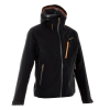 Quechua Men'S Extra Waterproof Jacket for hiking - BLACK