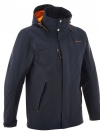 QUECHUA Men's Waterproof Jacket (Navy Flash)