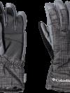 Columbia Men's Whirlibird Short Gloves - Black Tweed Plaid Print