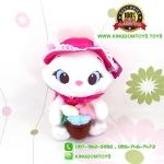ตุ๊กตาแมวมารี Flower Garden ชุดชมพู 10 นิ้ว [Disney]