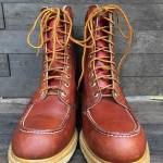Vintage safety boot ยุค 60 size 8.5D