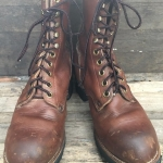 Vintage Georgia usa logger boot หัวเหล็ก size 9