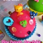 Play Dough Cup Cake