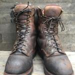 Chippewa USA logger boot size 10.5