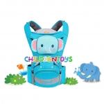 Baby Carrier เป้อุ้มเด็ก Hip Seat Mambo 4 in 1 รูปสัตว์