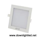 ดาวน์ไลท์ LED Panel light Square 9w (แสงขาว)