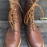 Vintage NOS Carolina logger หัวไม่เหล็ก boot USA size 13D
