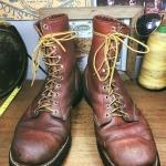 . Vintage 899 RED WING ป้ายหมา 1980 size 11E
