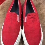 3. Converse skidgrip slip on made in USA 80's size 7 ราคา 3500