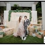 กรอบรูปแต่งงาน รูปภาพกรอบลอย ขนาด 12x18
