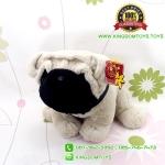 ตุ๊กตา น้องหมาปั๊ก Pug ท่านั่ง 11 นิ้ว [Anee Park]