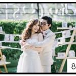 กรอบรูปแต่งงาน รูปภาพกรอบลอย ขนาด 8x10