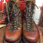 2.Vintage Herman Survivor hunting work boot size 9
