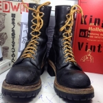 Vintage Red wing 2218 logger มือสองของแท้ made in USA size 7.5D