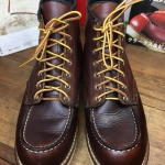 Red wing 8138 size 8D