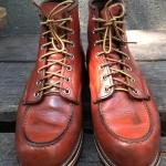 *4 Red wing 8131 size 8E-26cm custom sole พื้นหนังประกบ*