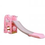 สไลเดอร์ 2 อิน 1 สำหรับเด็ก Mini Playground Set คิตตี้ พร้อมห่วงบาส