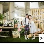 กรอบรูปแต่งงาน รูปภาพกรอบลอย ขนาด 20x24